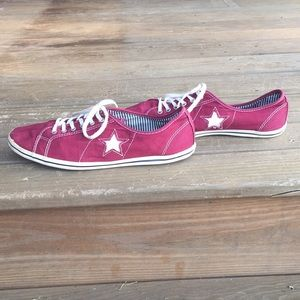 Converse One Star size 11 wo's